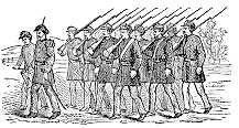 Infantry Drawing